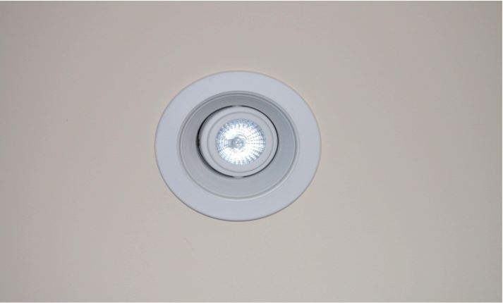 Defective Recessed Lighting